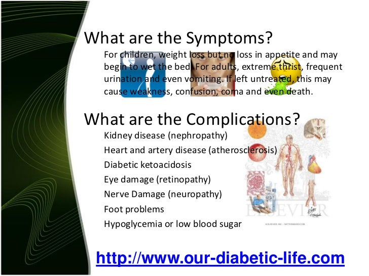 the two types of diabetes causes symptoms and treatment