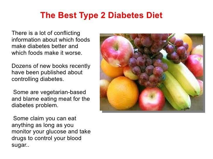 best type of diet for type 2 diabetes