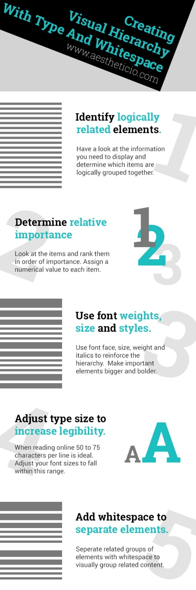 Learn Graphic Design How To Create Visual Hierarchy