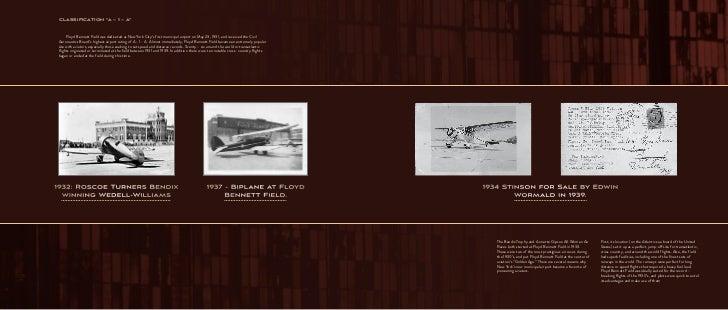 "FBF | 2 1                      Classification ""A – 1 – A""                          Floyd Bennett Field was dedicated as N..."
