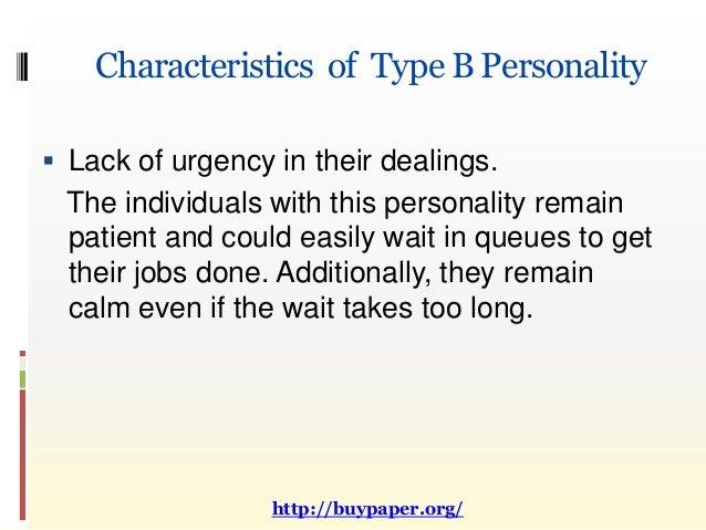 personality type essay