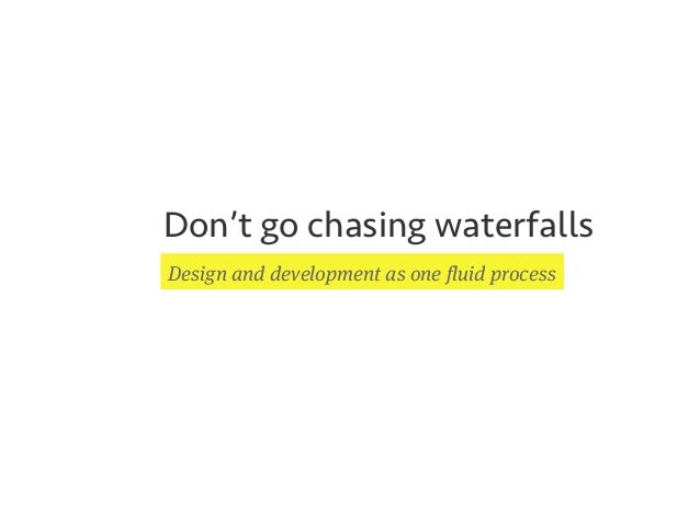 After The Jump Type Code Don T Go Chasing Waterfalls Design And D