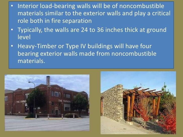 Building Construction Types : Type iv building construction final