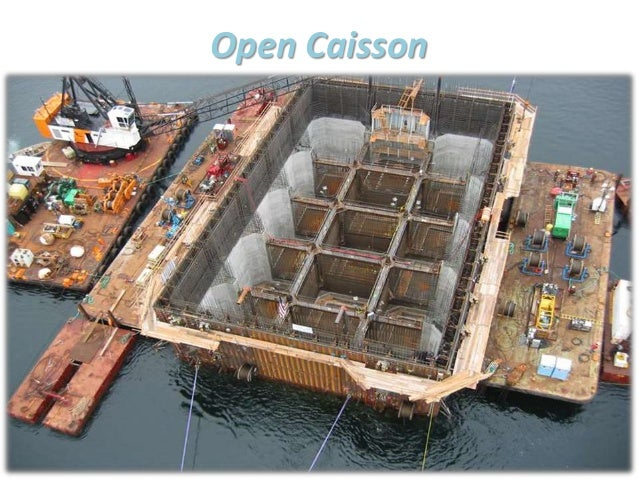Type of caissons