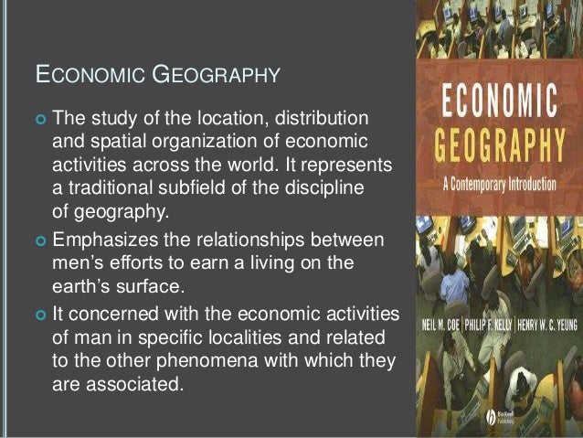 the uneven distribution of economic activity across regions Nber working paper series market size, linkages market size, linkages, and productivity: distribution of activity across space and.