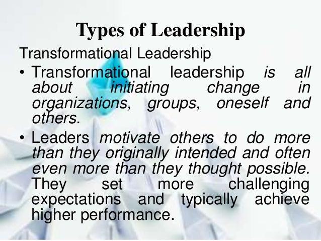 Type of leadership