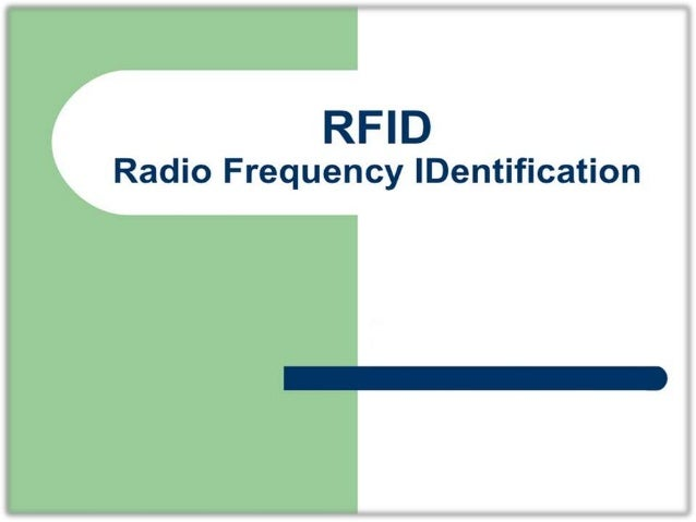 RFID are used in many industries. RFID is a Tracking System and used of radio waves to read and capture.