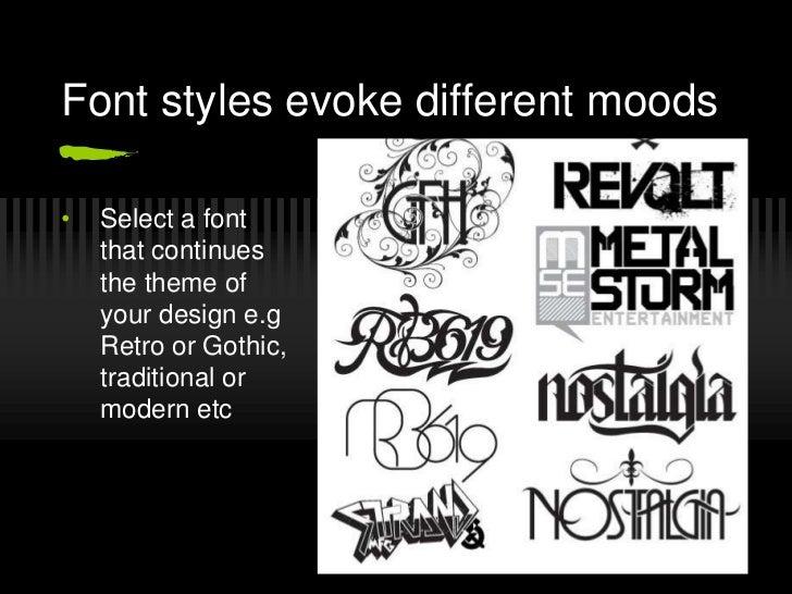Typography, A Presentation Slide 2