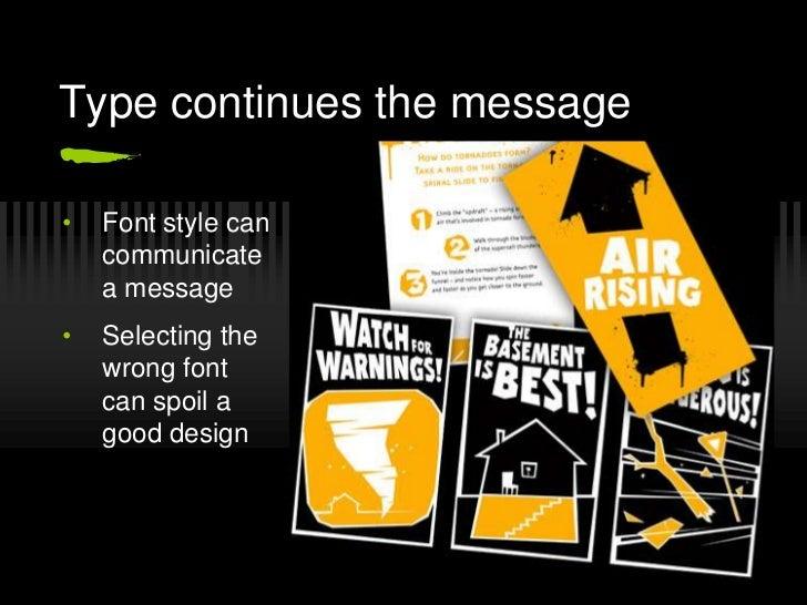 Typography, A Presentation Slide 3