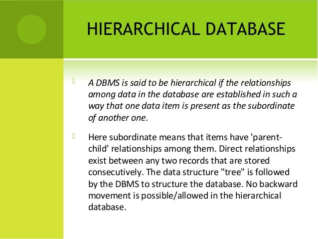 database management system examples