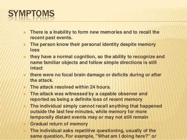 Types of-amnesia