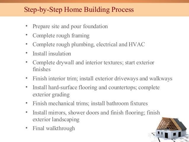 Types of building construction by ew webb engineering inc for Steps to start building a house