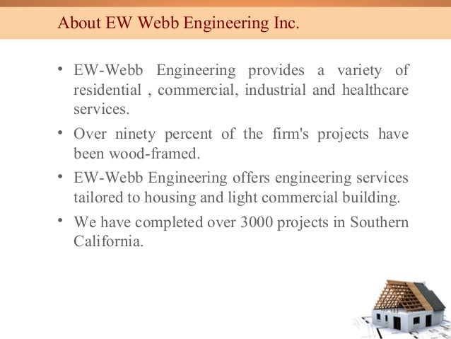 5 Types Of Building Construction : Types of building construction by ew webb engineering inc