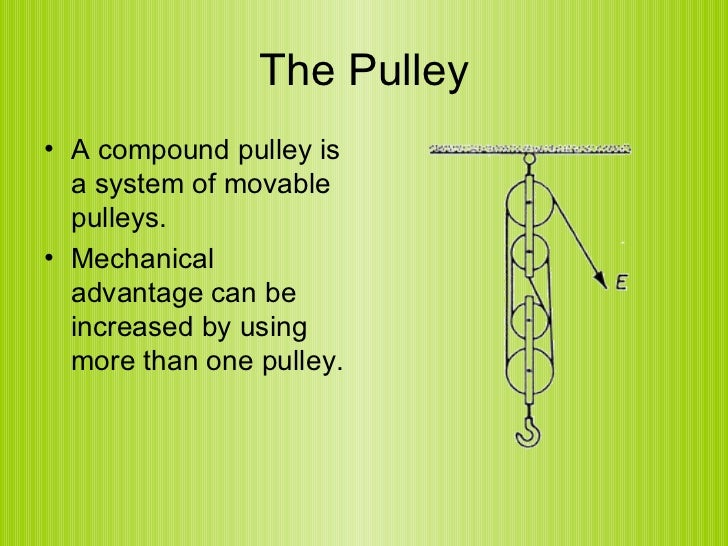 definition of pulley simple machine