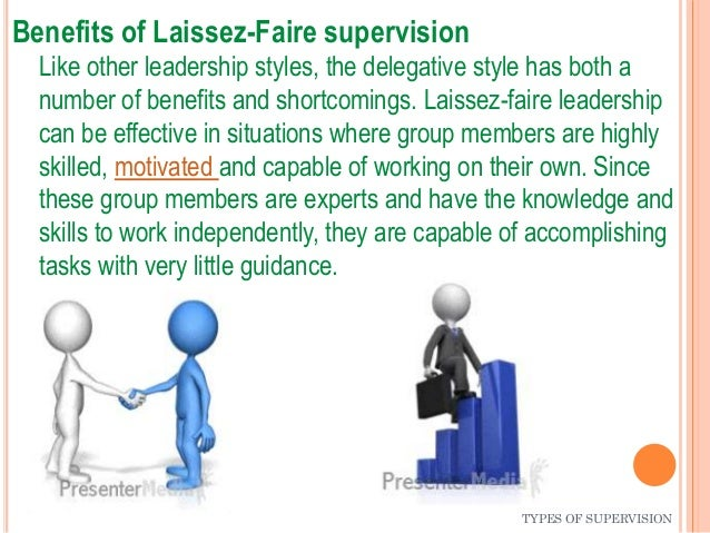 styles of supervision Effective supervision in child care settings standards provincial standards for child care programs (child care licensing regulation, ar 143/2008 and family.
