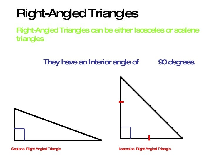 relationship of semi circle and right angled triangle