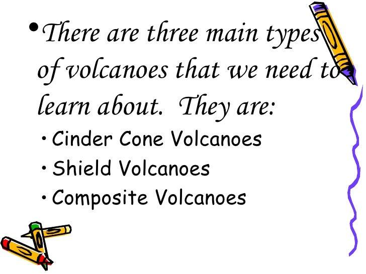 types of volcanoes powerpoing 2