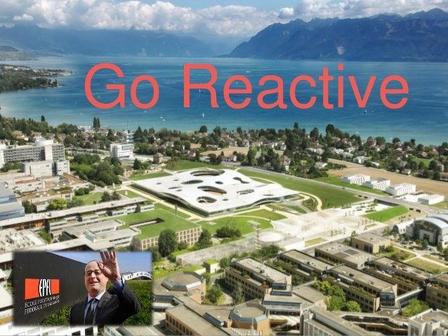 1 Go Reactive