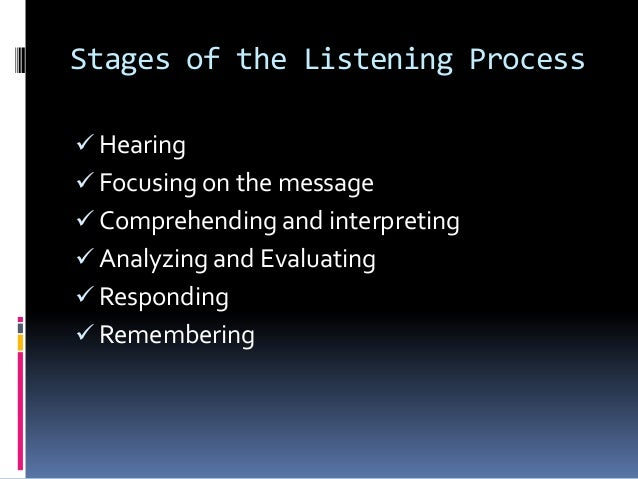 eight barriers to effective listening