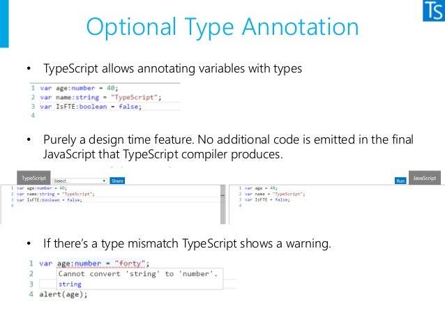 TypeScript Overview