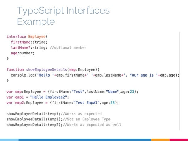 TypeScript - An Introduction