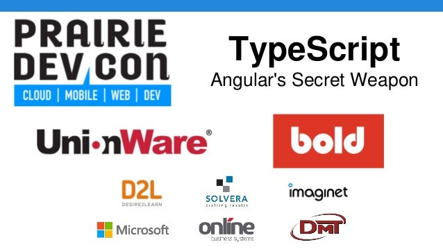 TypeScript Angular's Secret Weapon