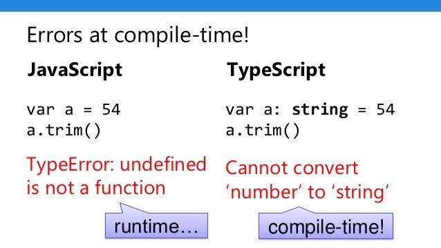 TypeScript: Angular's Secret Weapon