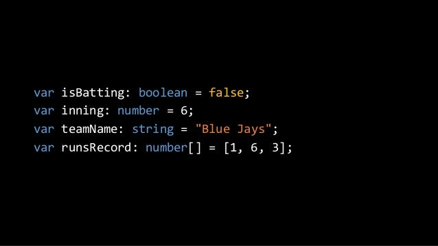Why TypeScript?