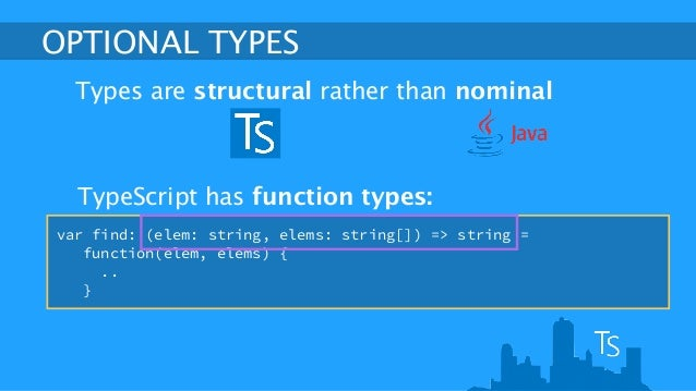TypeScript: coding JavaScript without the pain