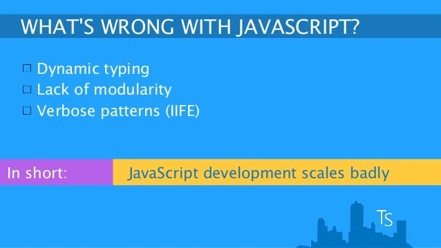 typescript coding javascript without the pain