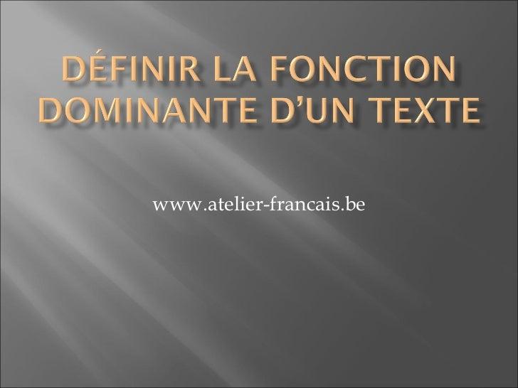 www.atelier-francais.be