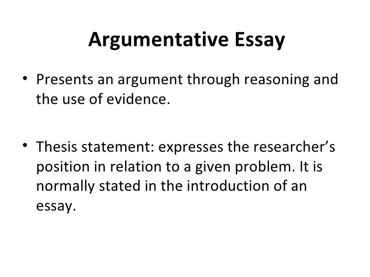 types of essay with examples