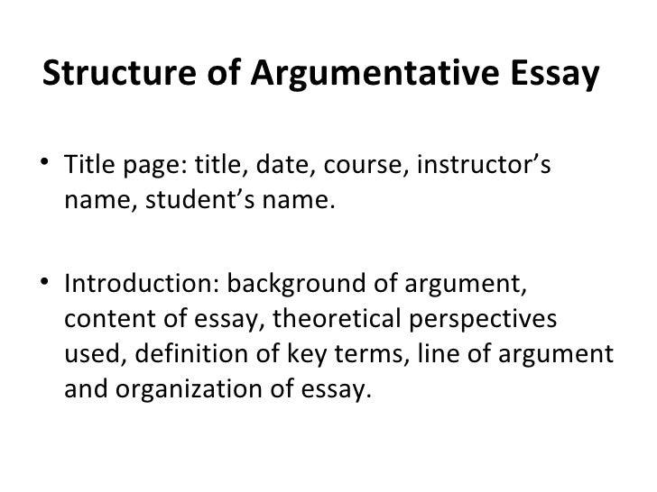 types of essays ppt