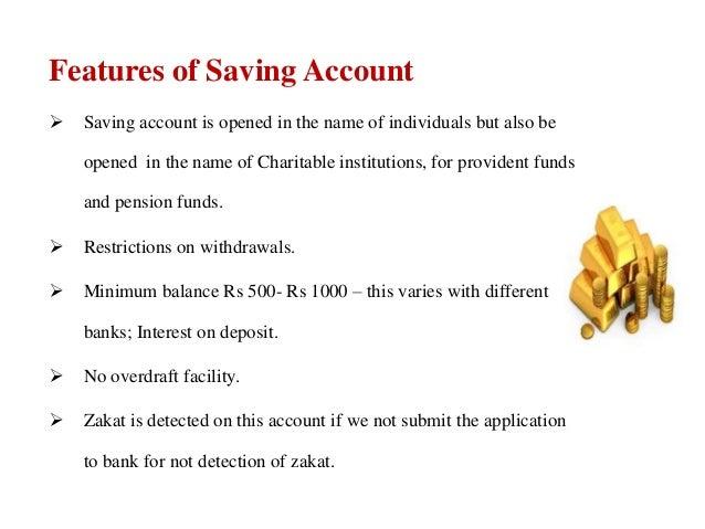 Types Of Accounts