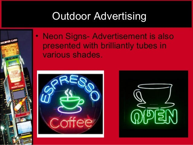 """types of advertising media essay In it, he argues that the internet shatters all forms of advertising """"the problem is  not the medium, the problem is the message, and the fact that it."""