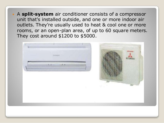 What are the different types of air conditioning units?