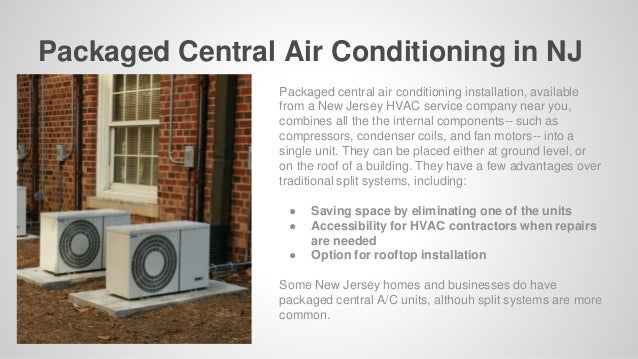 Types of Air Conditioning Installation in New Jersey