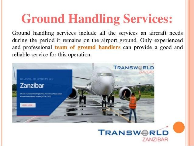 Types of Ground Handling Operations Slide 3