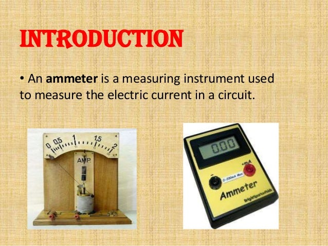 Types Of Electrical Measuring Instruments : Types of ammeter