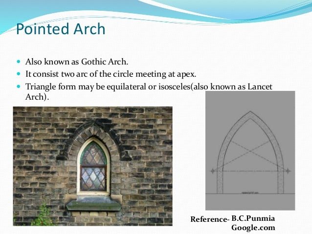 Reference BCPunmia Google 13 Pointed Arch