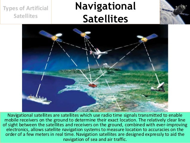 what are artificial satellites used for