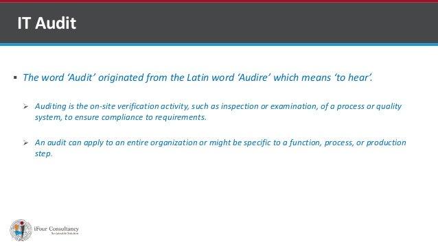 Types of audit Slide 2
