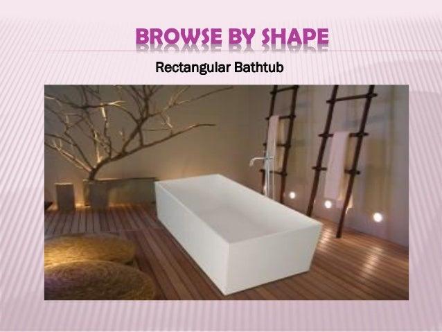 BROWSE BY SHAPE Oval Bathtub