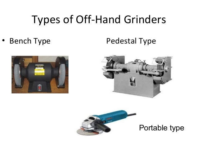 Type Of Grinding Wheels
