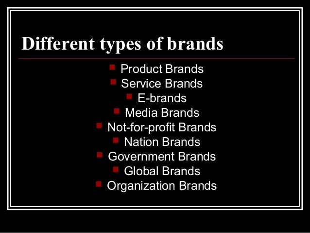 """describe the different types of brand sponsorship With a brand development strategy, you can create and strengthen your  professional  and each will need different types of evidence to support your  messages  this might include one-page """"sales sheets"""" that describe core."""
