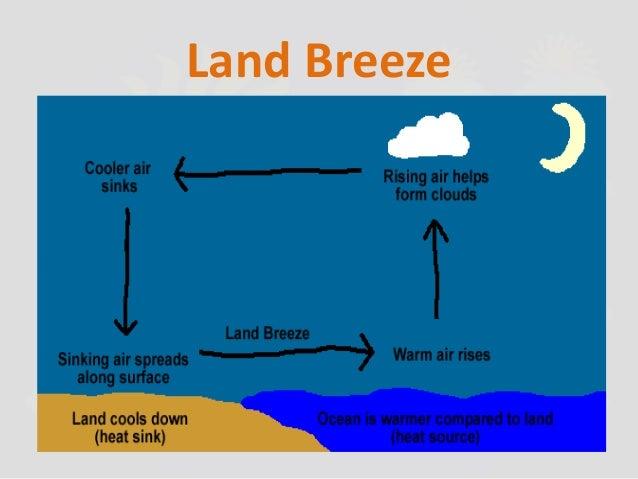 Land breeze definition