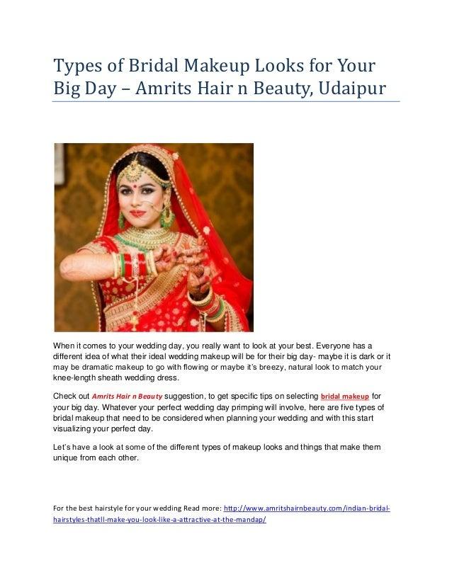 87db73a0f6b Types of bridal makeup