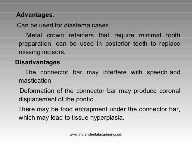 Types Of Bridges Fixed Orthodontics Courses