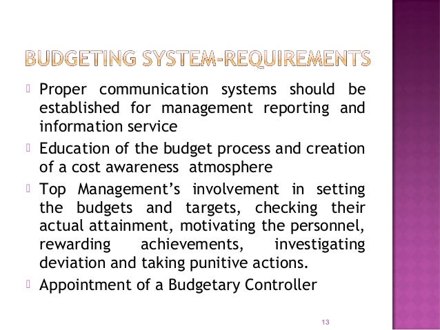  Basis for internal audit since regularly evaluating departmental results.  Wastages & Losses are avoided and thus maxim...