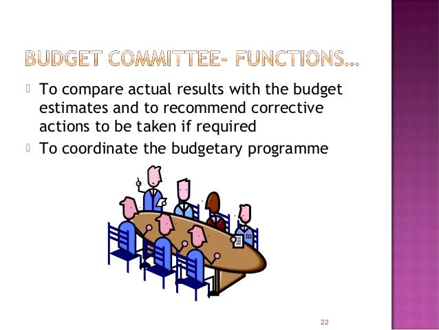 A written document or booklet specifying the objectives of the budgeting organization and procedures. Important matters co...